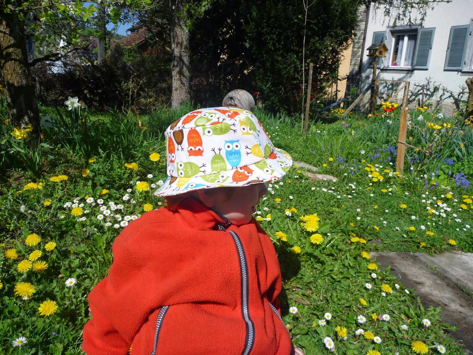 Hut für Kinder nähen selber