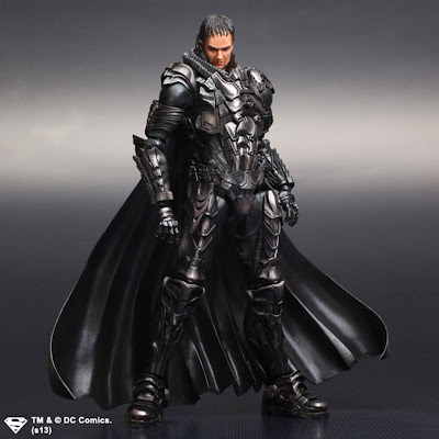 Square Enix Play Arts Kai Man of Steel General Zod Figure