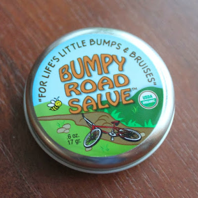 Bumpy road salve - treating bruises with arnica