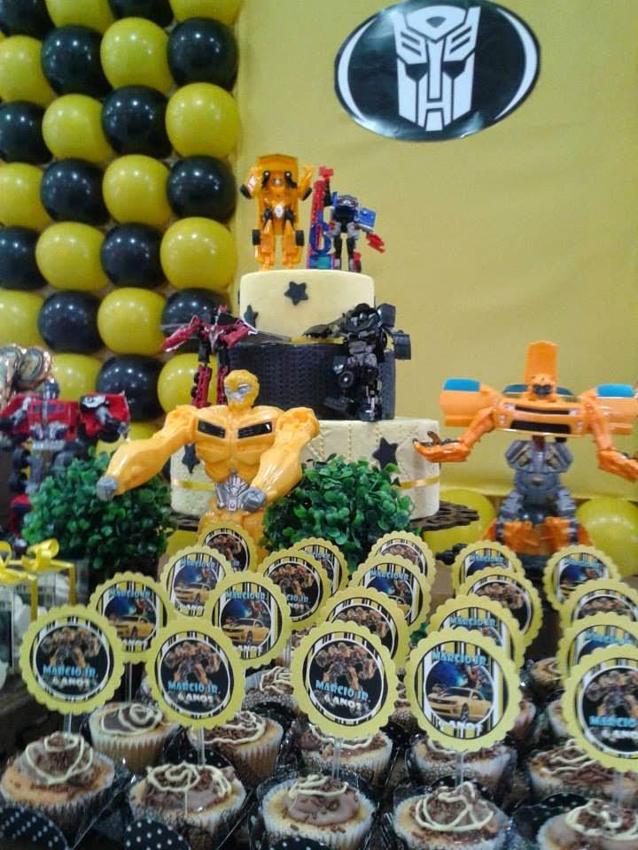 Foto festainfantiltematransformers7 – Decoração de Festa