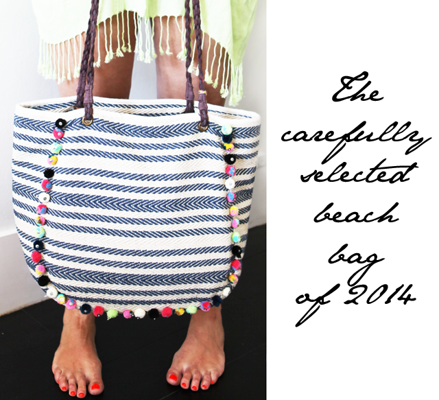 The eternal search for the perfect beach bag has come to an end!
