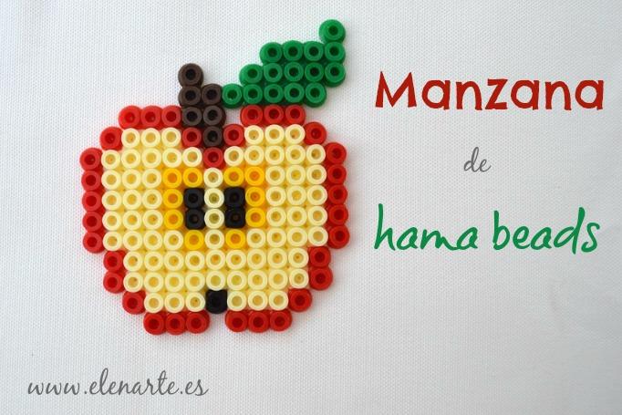 Manzana hama beads