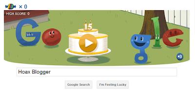 Hari Ulang Tahun Google Ke 15