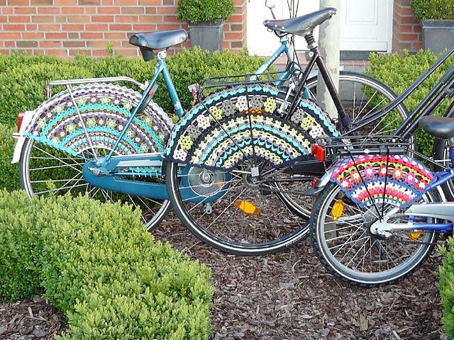 Как украсить колесо велосипеда своими руками 72