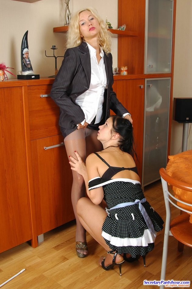 Sexy young schoolgirls in pantyhose sex