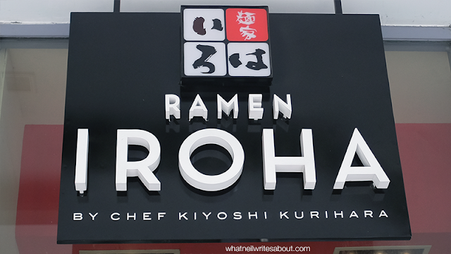 Neil Writes About Ramen Iroha Signage Review