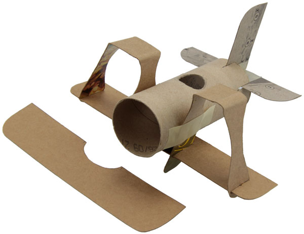 Поделки из бумаги своими руками самолёт из