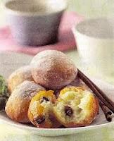Roti Goreng Pisang Coklat Lembut