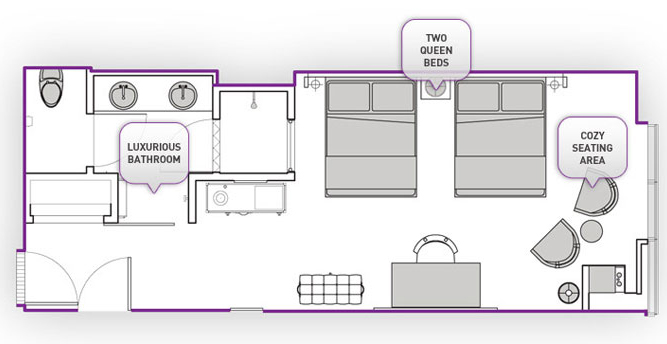 The Hopeful Traveler The Cosmopolitan Of Las Vegas Room Categories - Las vegas floor plans