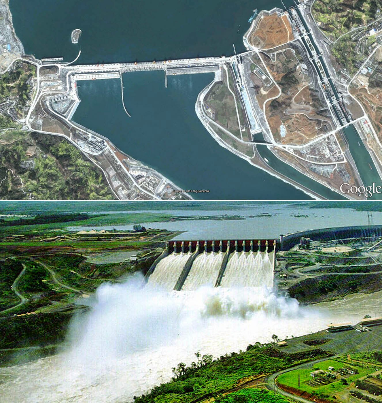 the gorges dam China's three gorges dam is the world's largest hydroelectric dam located along the yangtze river in china.