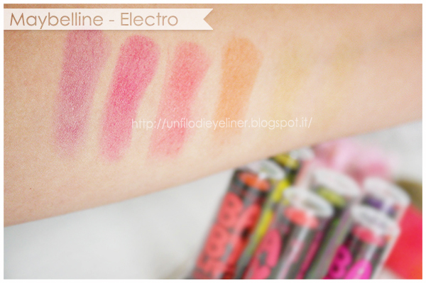 Preview: Maybelline Baby Lips Electro #rockyourkiss Swatch