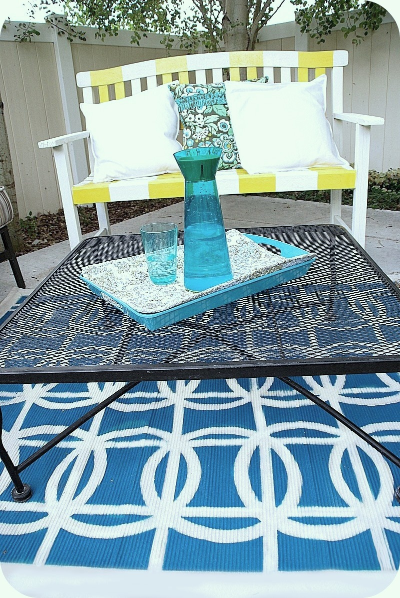 the after thoughts cloth outdoor happily ever to pin honest paint how we rug my drop diy on bloglovin a lived