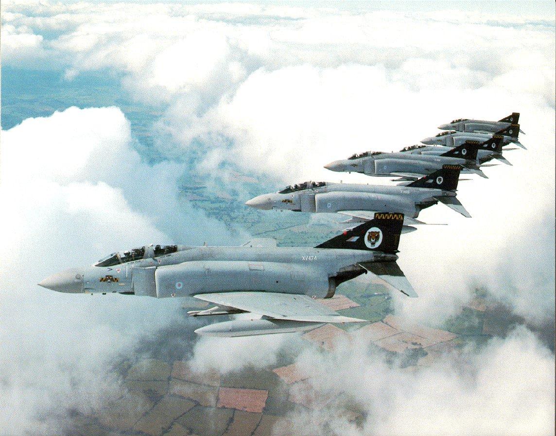 Jet Airlines: McDonnell-Douglas F-4 Phantom II