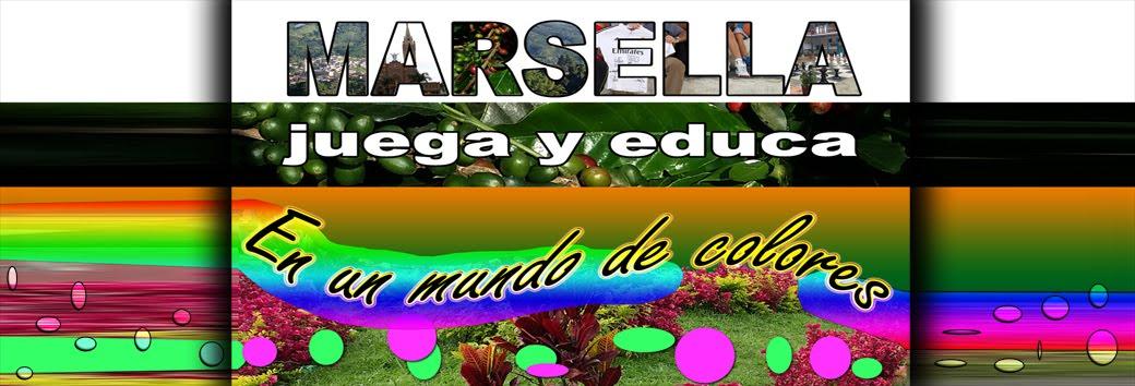 Marsella juega y educa en un mundo de colores
