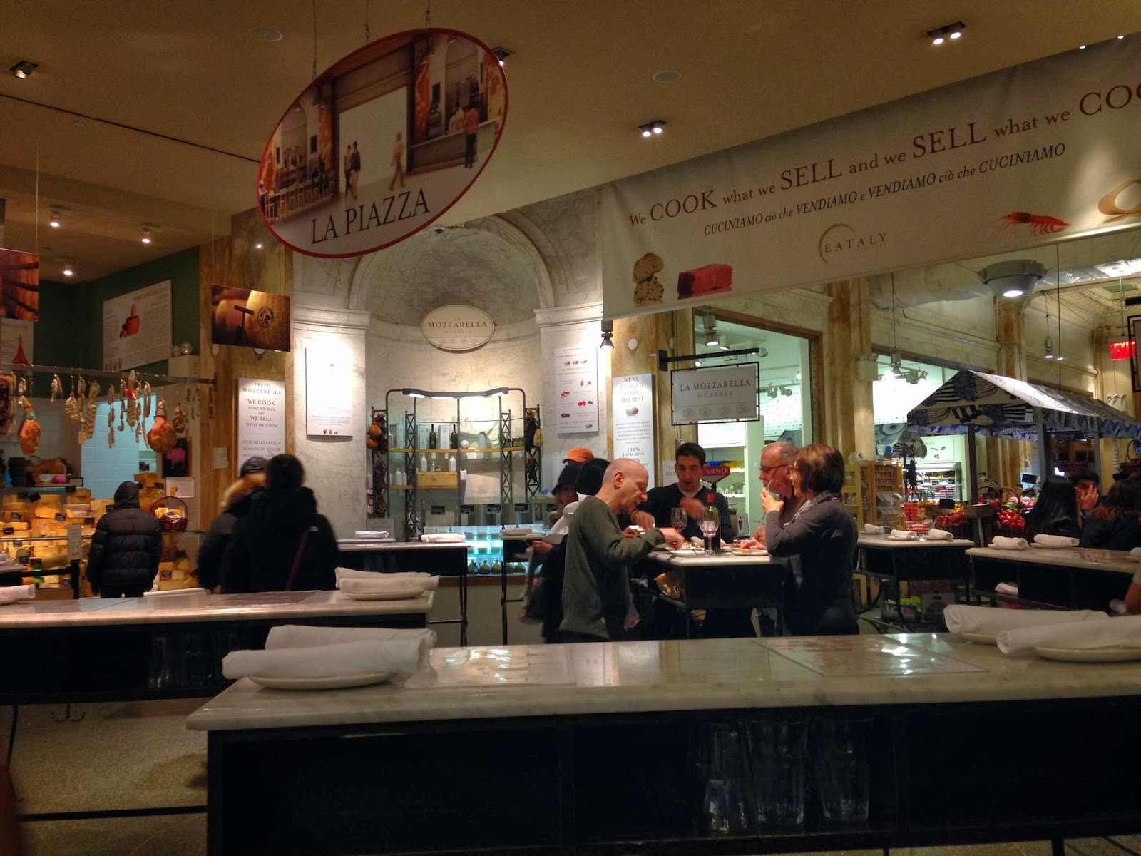 Lauren Loves to Eat: An Impromptu Lunch at Eataly