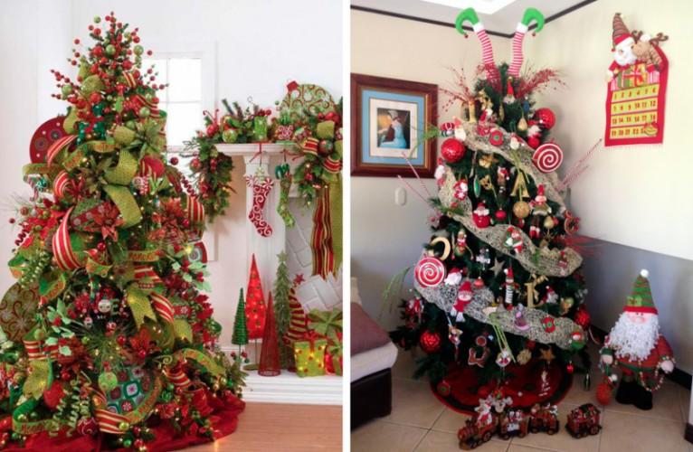 Tendencias de moda for Como decorar un arbol de navidad
