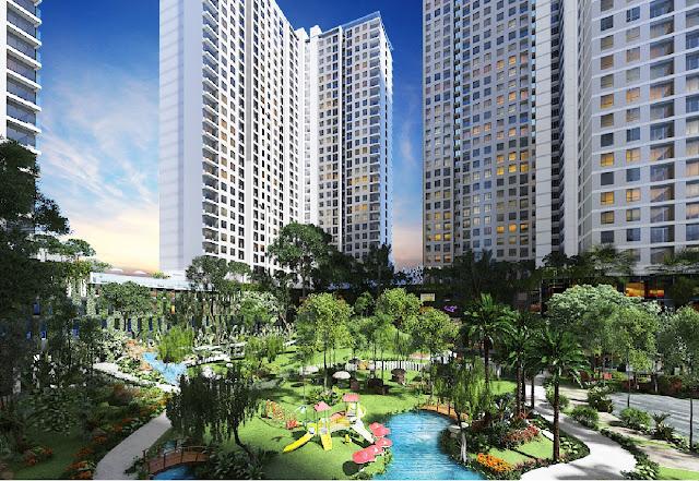 Phối cảnh căn hộ Centa Park Tân Bình