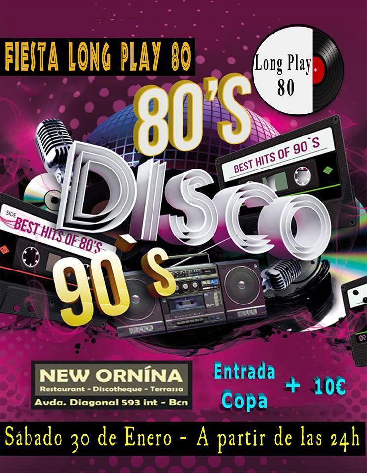 Flyer Fiesta 80s & 90s