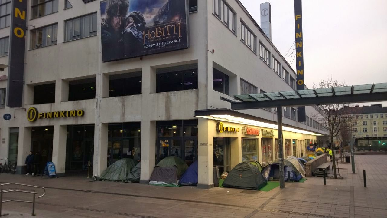 camping for the hobbit