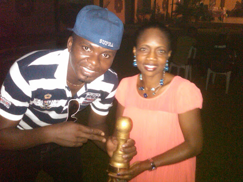 K01 Oba Abinibi is the winner of the TOPSTARZ AWARD {BEST MALE ART}