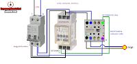 reloj contactor termico maniobra