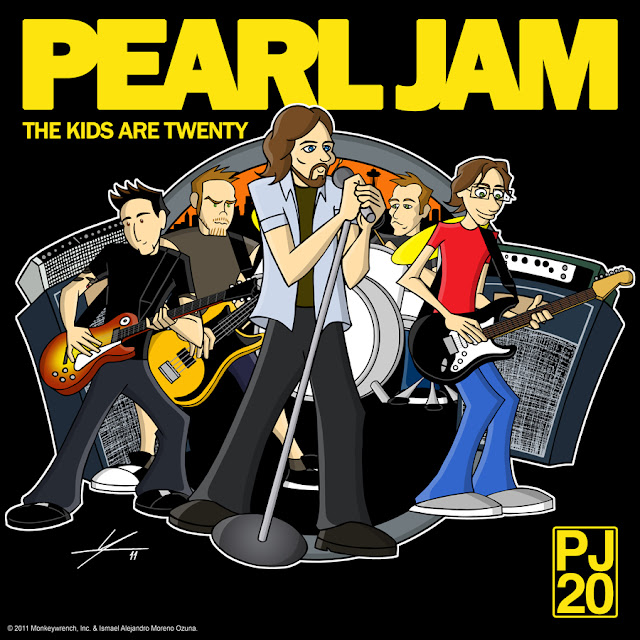 Pearl Jam The Kids Are Twenty PJ20 by IAMO