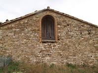 Detall de la masia Coromines