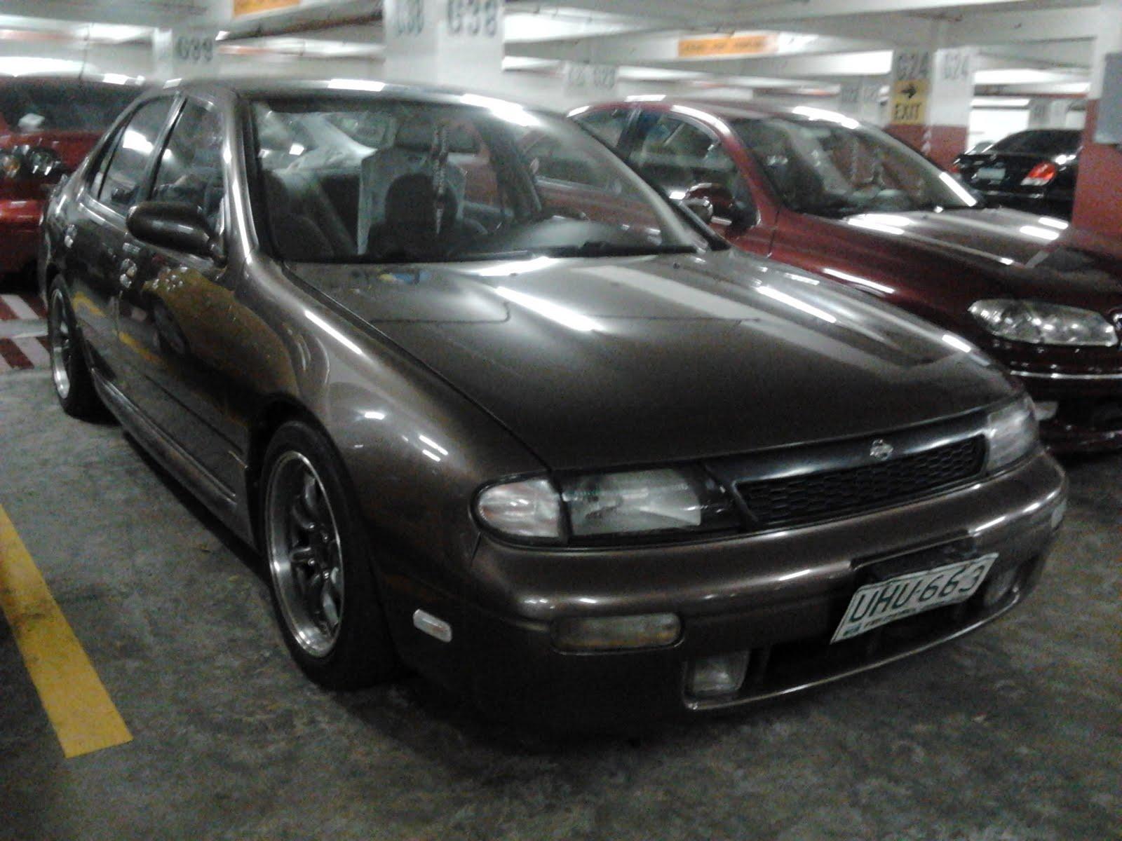 parked cars manila: 1995 nissan altima