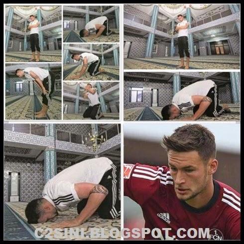MasyaAllah Pemain Bola Sepak Jerman Umum Peluk Islam