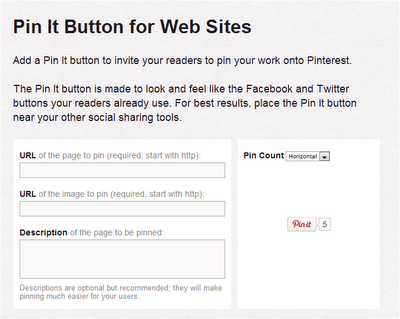 pin it button for blogs