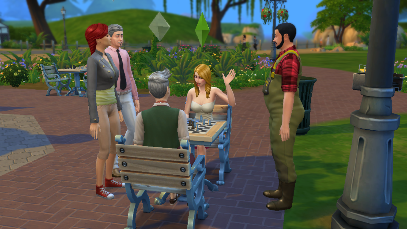 how to add sims to household sims 4