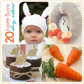 20 Adorable DIY Easter Bunny Ideas featured at I Gotta Create!