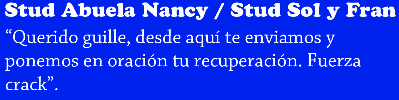 STUD ABUELA NANCY