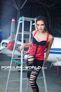 Alexa Key for Popular World Magazine, August 2012