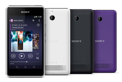 Spesifikasi dan Harga Sony Xperia E1, Ponsel Android Jelly Bean Layar Sentuh 4 Inchi