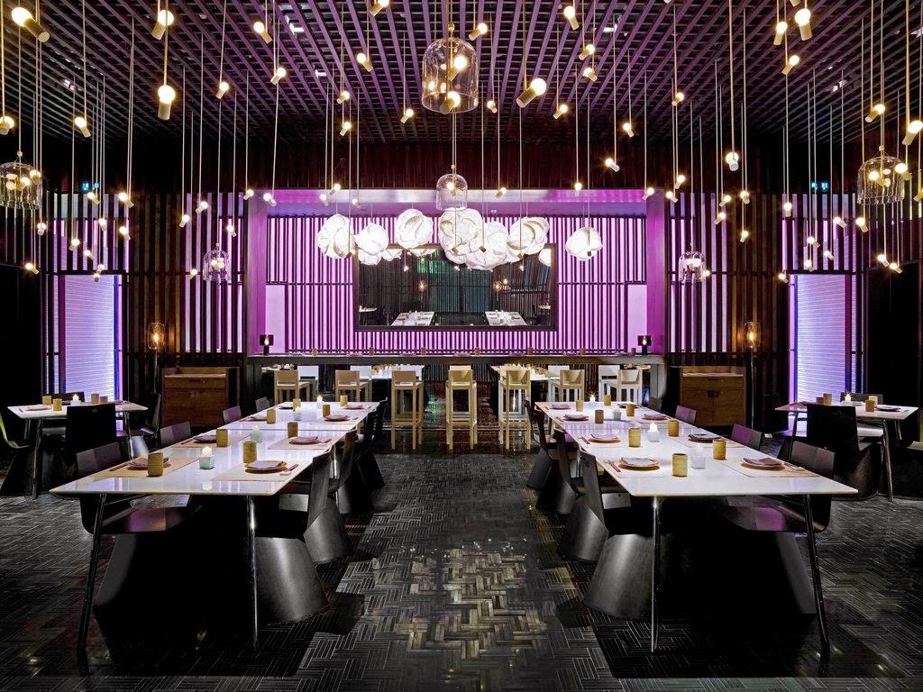 2 cool restaurant decoration home design hd wallpapers for Decoration restaurant