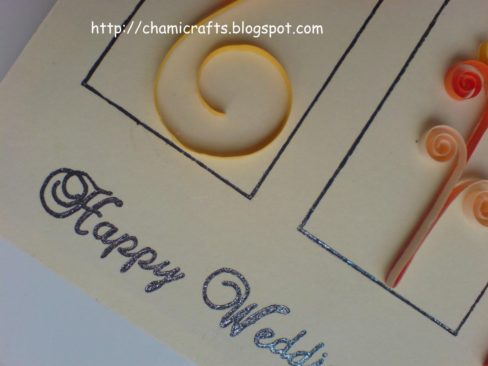 Chami crafts handmade greeting cards may