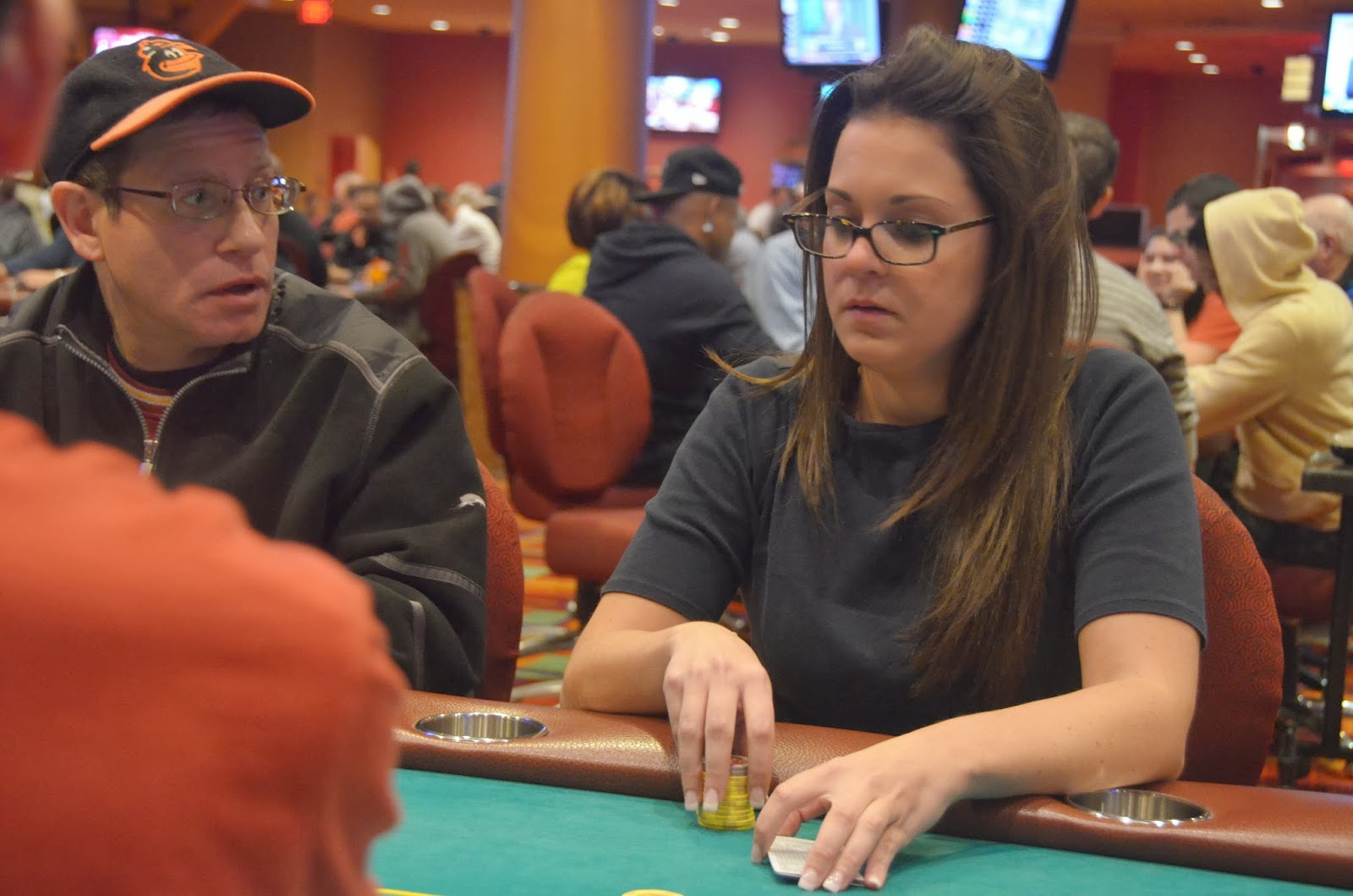Parx big stax iv big stax 1000 day 3 7th place hubbard 15 949 for Parx poker room live game report