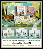 Join Close To My Heart in April and Choose a FREE Cricut Collection!