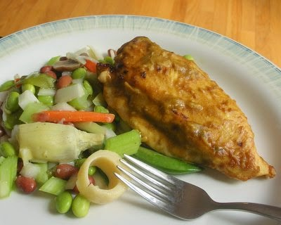 Lime Chicken, just five ingredients, simple, moist, good. | Low Carb & High Protein. Weight Watchers PointsPlus 4 | KitchenParade.com