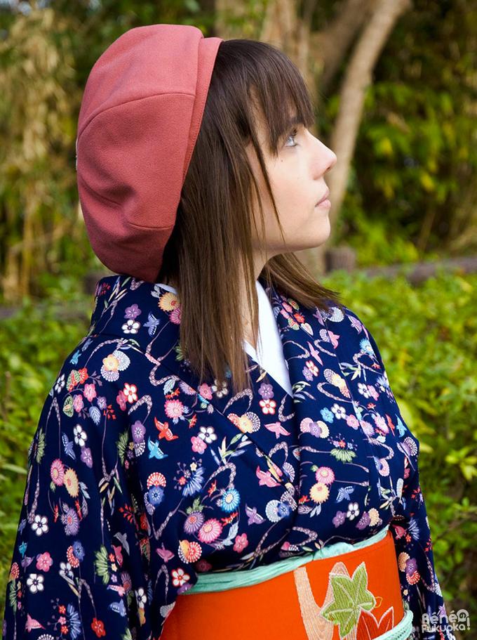 Béné no Fukuoka - Kimono, Kitsuki city