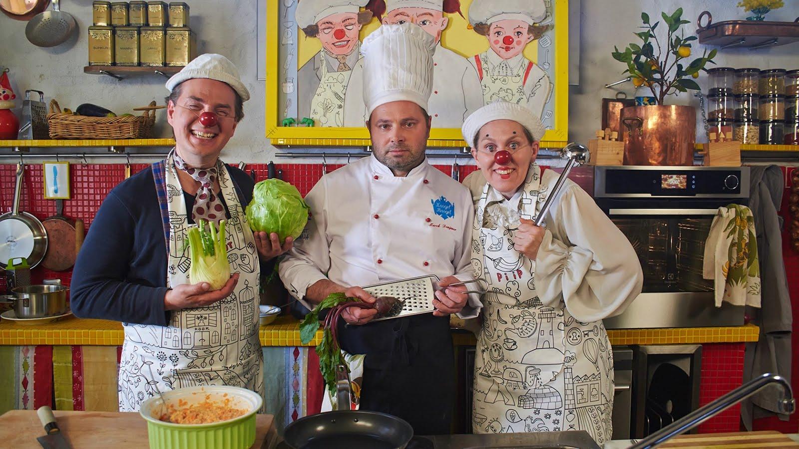 PIIP JA TUUT KÖÖGIS peakokk Marekiga kokasaade kogu perele ETV2s