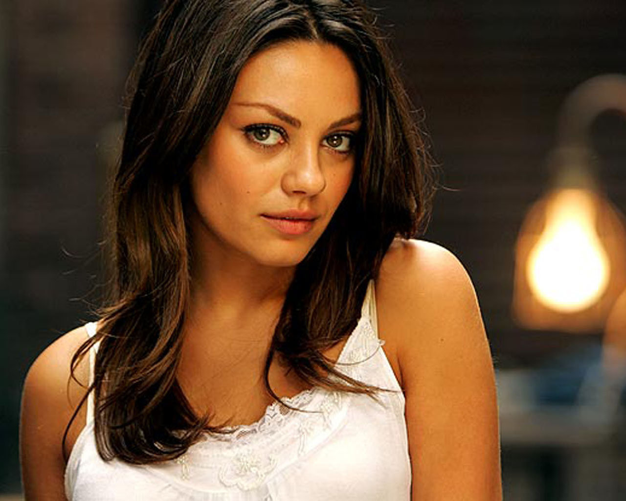 I freakin wish Mila Kunis was my ex. Except I'd never want to screw that  up. Maybe that's why we fail, I love too much.