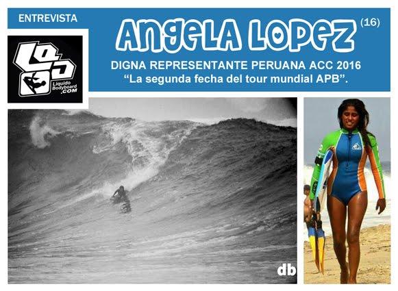 ANGELA LOPEZ (16) / DIGNA REPRESENTANTE PERUANA ACC 2016