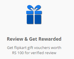 Get Rs.100 free flipkart voucher for writing review at softwaresuggest