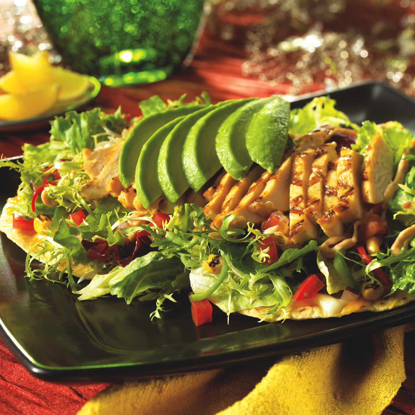 Download this Grilled Chick Tostada... picture