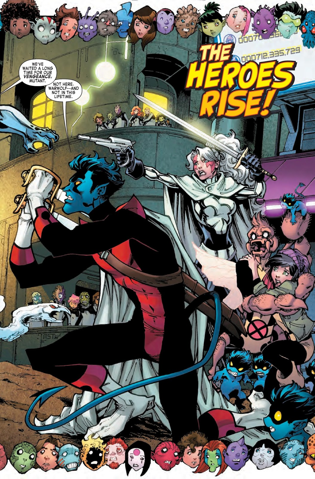 Bloody Bess and Nightcrawler must protect the students