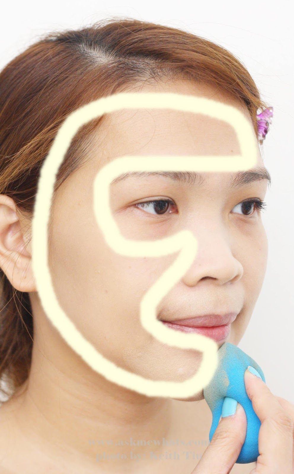 Foundation Application On Pinterest How To Prevent Undereye Make Up From  Creasing Askmewhats Top Beauty Blogger
