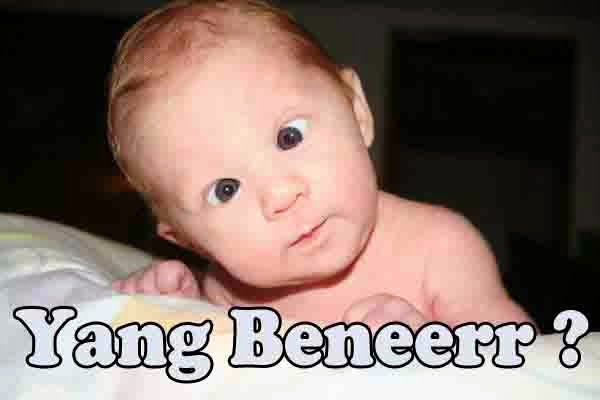 Gambar bayi gokil editan terbaru