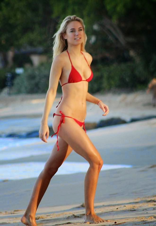 Kimberley Garner Bikini Photo